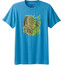 Prana M's Redlands Slim T-Shirt Vortex Blue